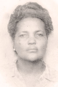My grand-mother, Marie-Clotilde