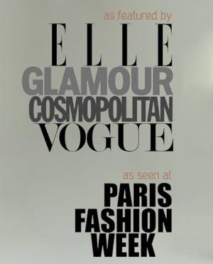 As seen in ELLE, Cosmopolitan, Glamour, VOGUE & more