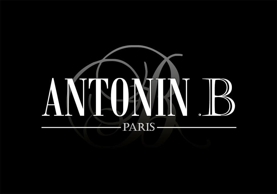 Antonin .B | Logo black background