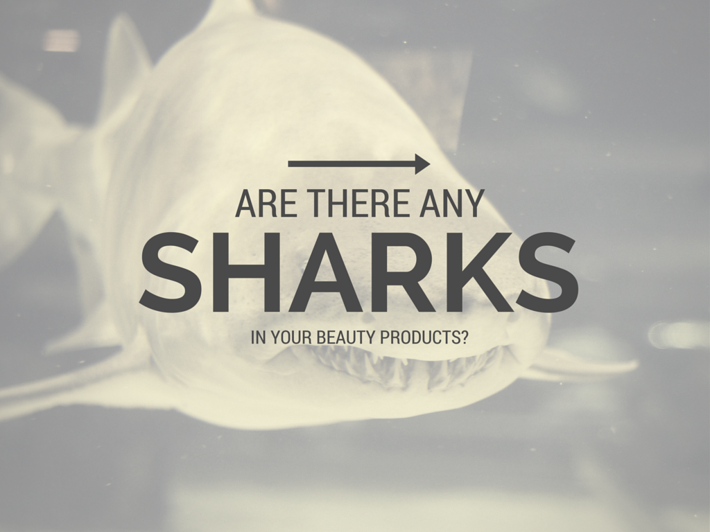 Are there sharks hiding in your cosmetics?