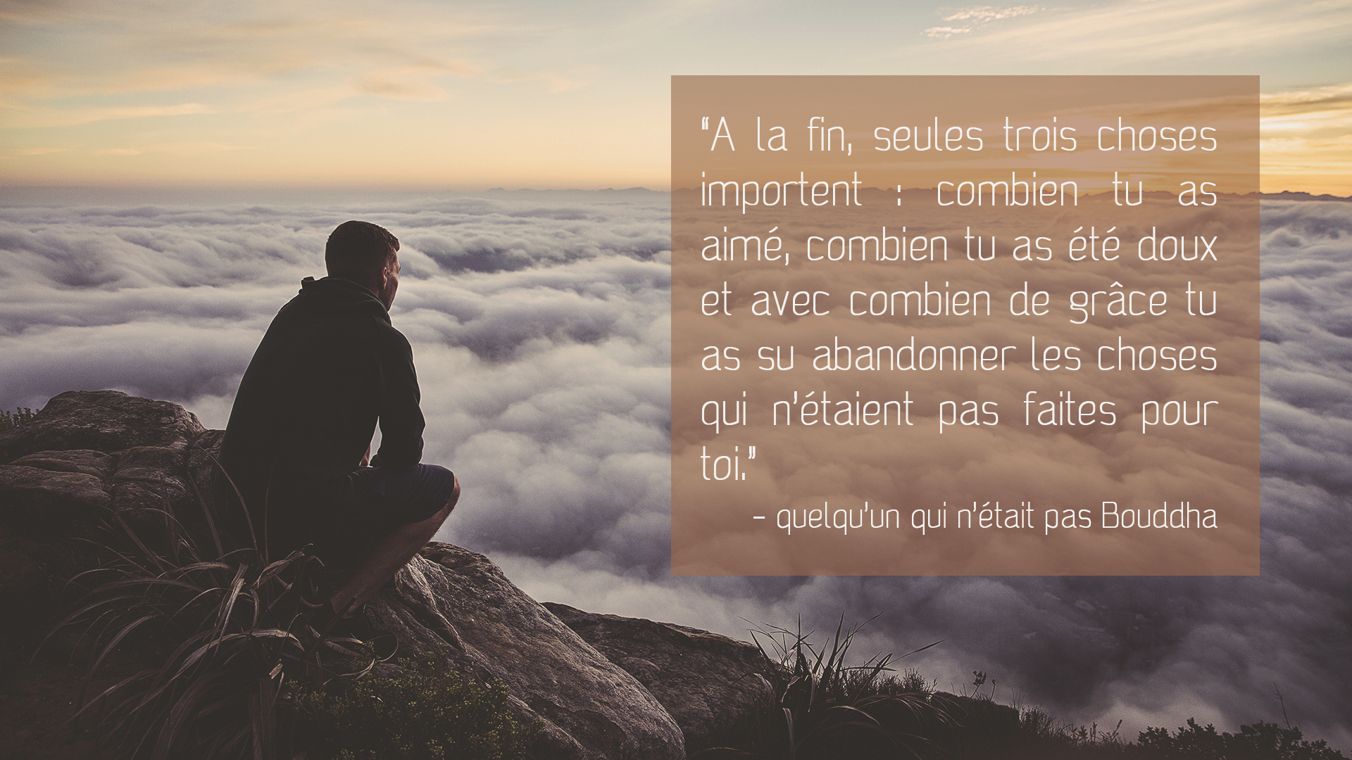 Presqu'une citation de Bouddha | Antonin .B