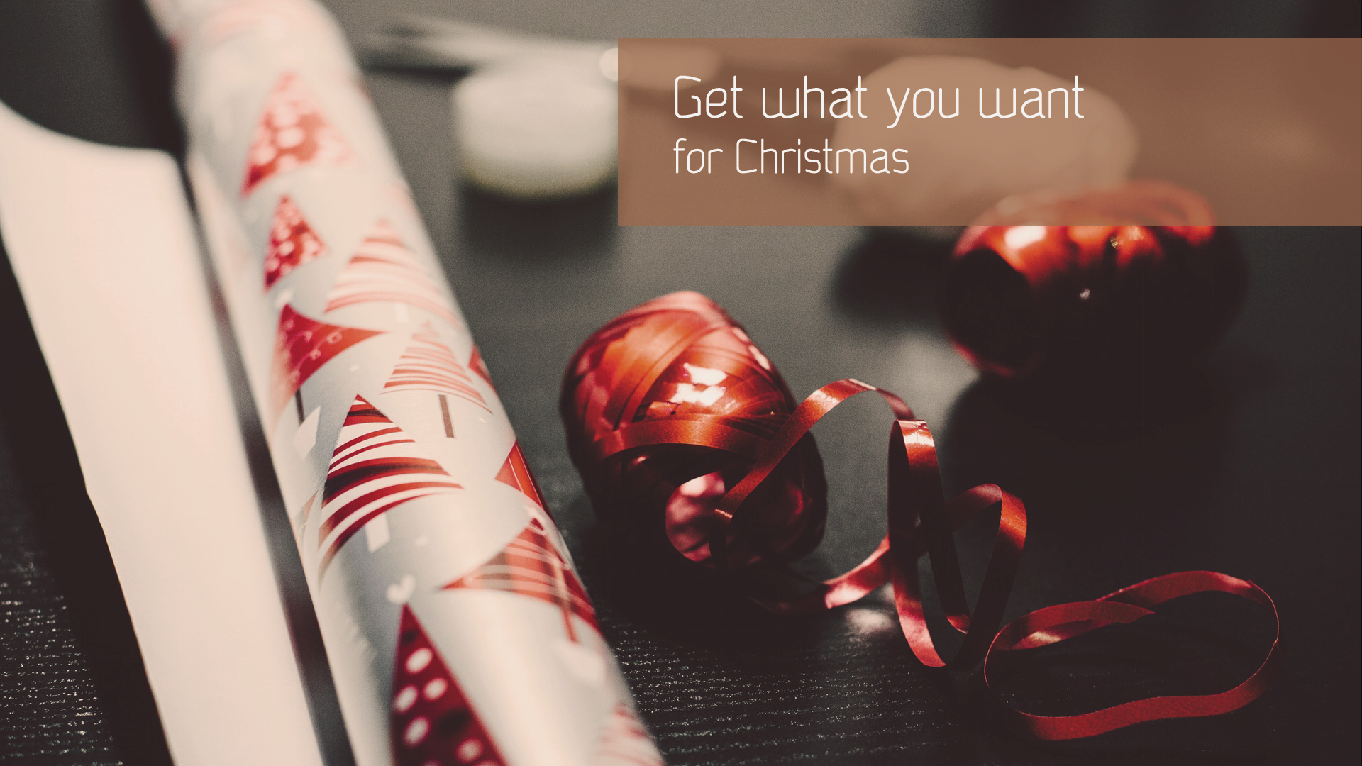 How to get exactly what you want for Christmas?