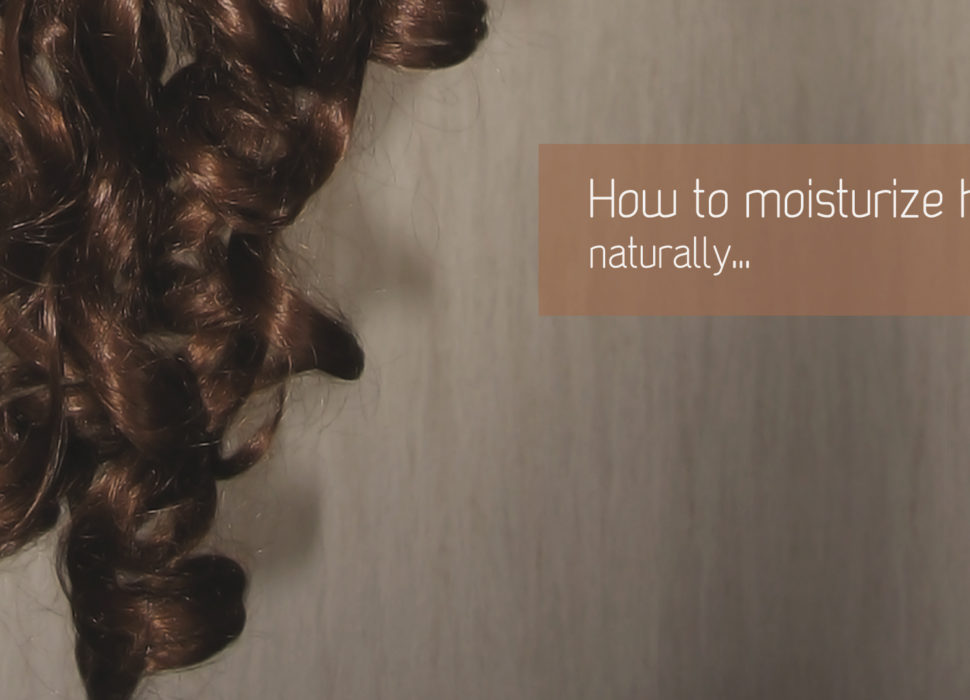 How to moisturize naturally dry hair
