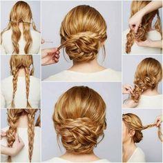 3 idées de coiffures chics & faciles pour noël | antonin .b