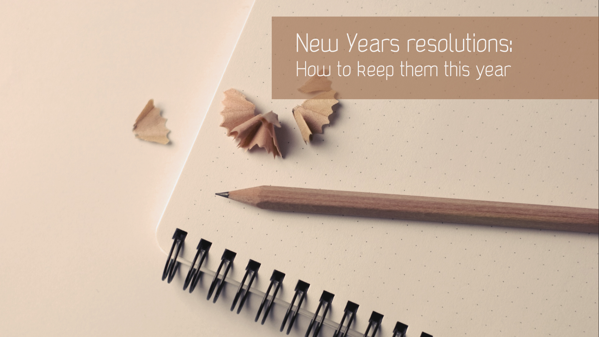 How to keep your beauty resolutions this year?