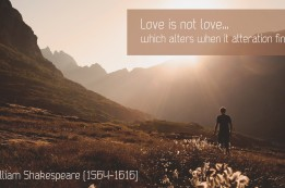 Shakespeare - Love is not love