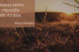 Nelson Mandela - The impossible