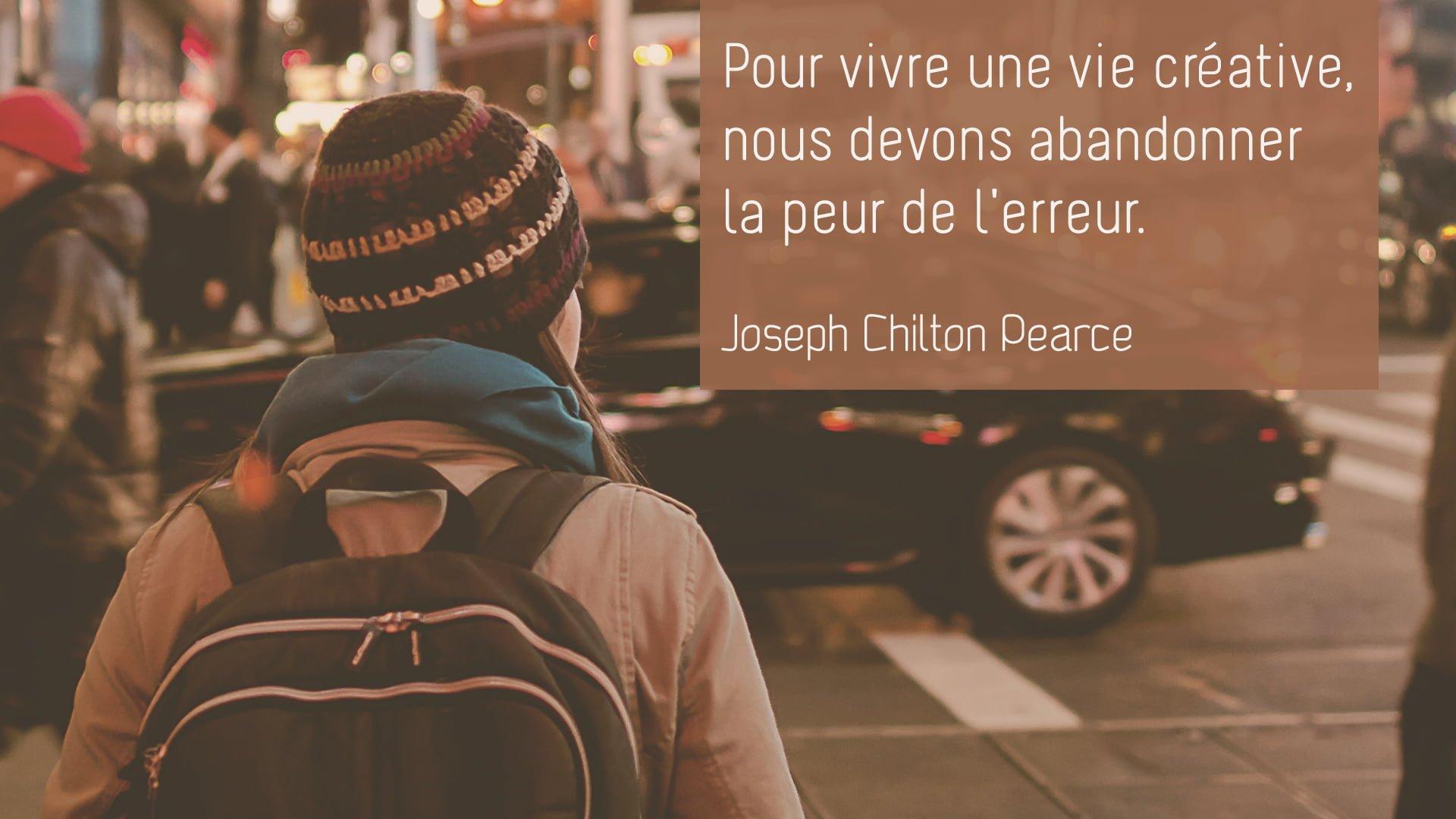Joseph Chilton Pearce – Une vie créative
