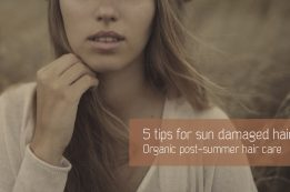 5 natural tips for sun damaged hair