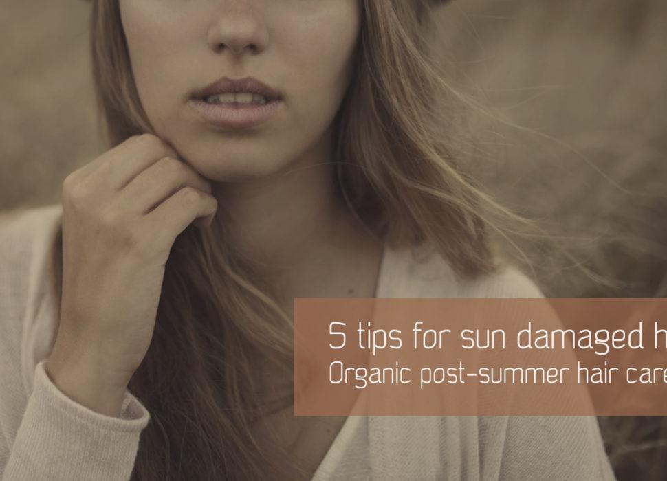 5 natural tips for sun damaged hair