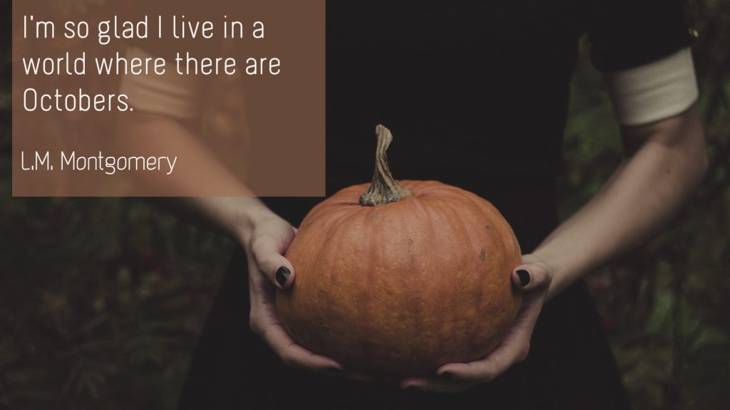 L.M. Montgomery – October