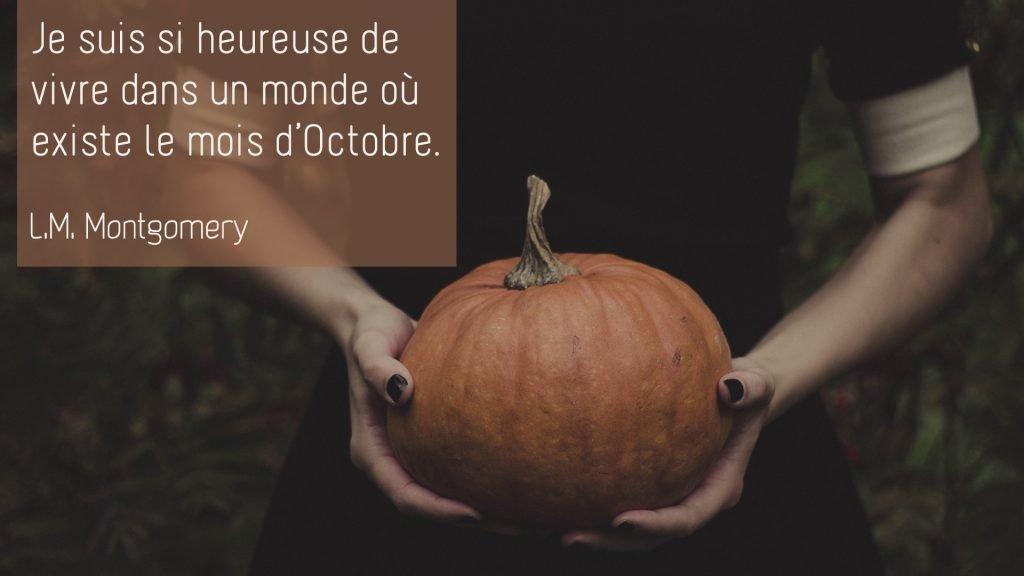 L.M. Montgomery – Octobre