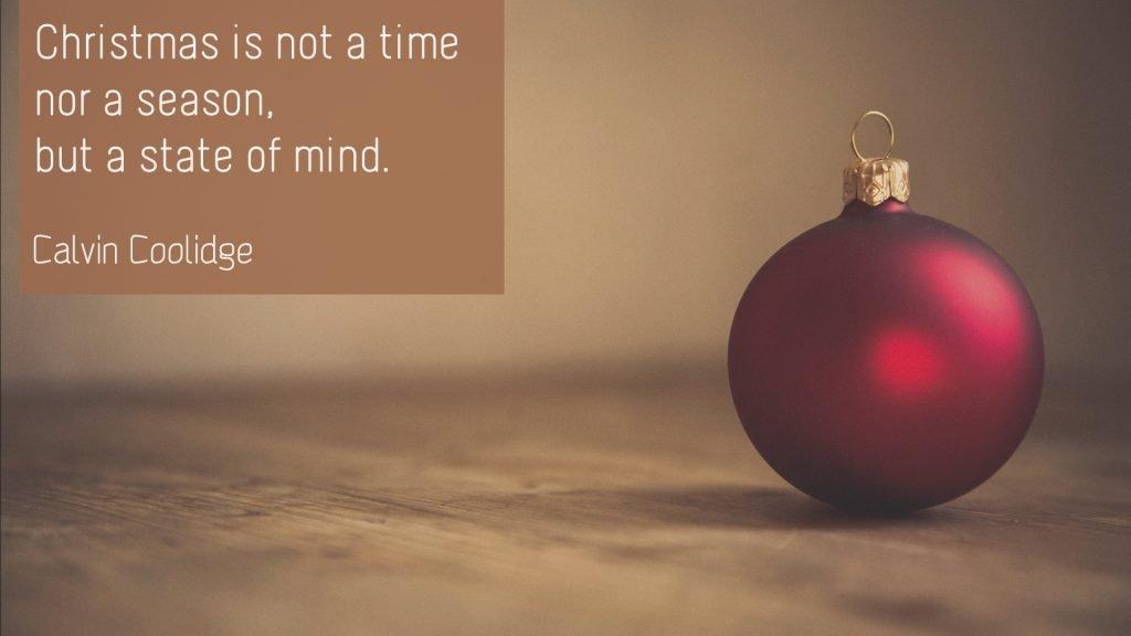 Calvin Coolidge – Christmas